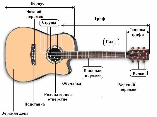 Конструкция гитары и её строение ...: guitarbukvar.narod.ru/bukvarves/02_Gitara.html